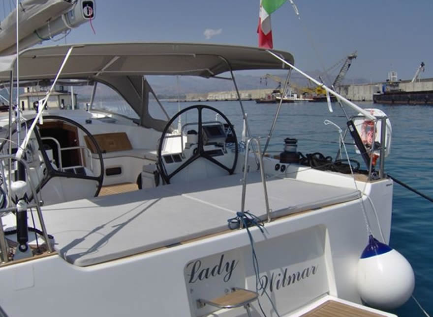 luxury sailing yacht - Comet 62 holiday Sicily Lipari Salina