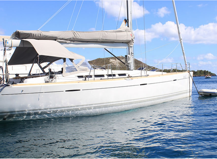 Luxury Sailing Yacht - First 50 holiday Sicily Aeolian Islands Taormina