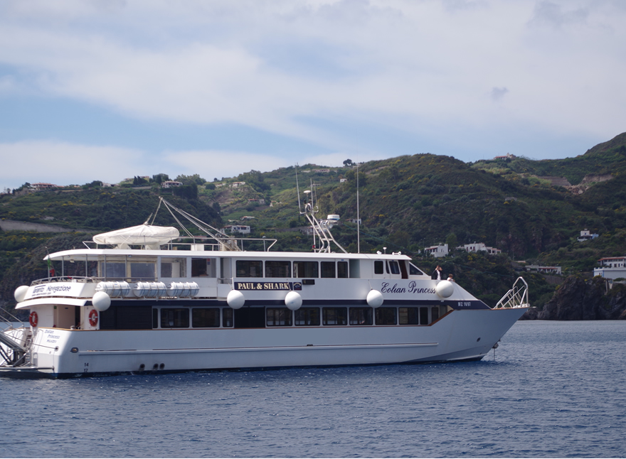 Ship for Parties - Sicily Milazzo Aeolian Islands - Marsala Aegadian