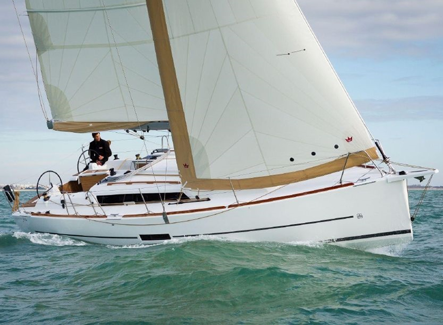 Sailboat Charter Rental - Dufour 360 holiday Sicily Palermo Aegadian Trapani