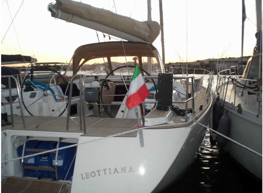 Sailboat Charter Rental - Dufour 485 holiday Aegadian Islands