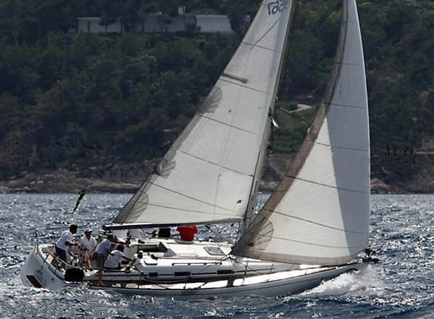 Sailboat Charter Rental - Grand Soleil 40 Holiday Aegadian