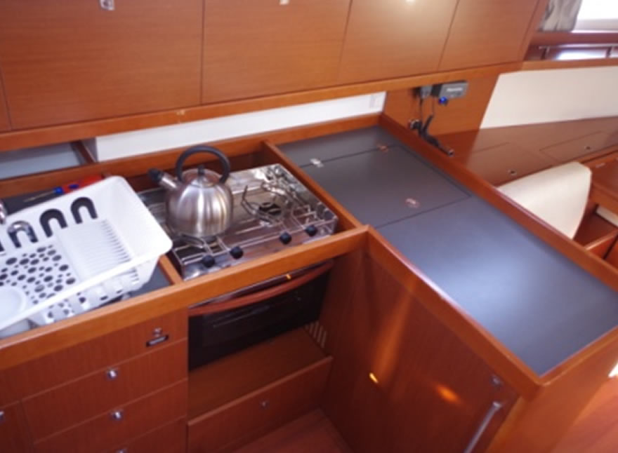 Sailboat Charter Rental - Oceanis 41 holiday Aeolian Balearic Islands