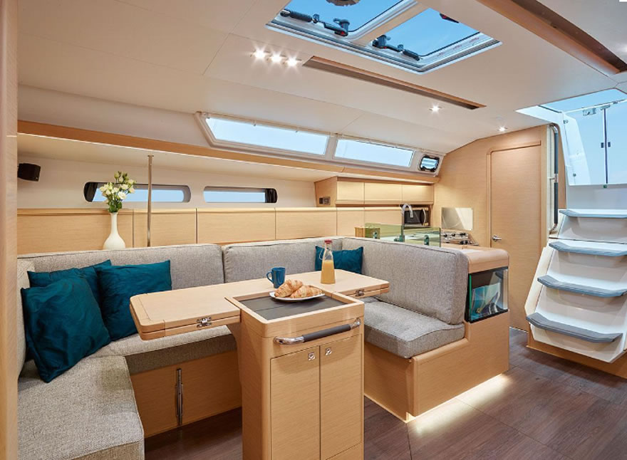 Sailboat Charter Rental - Sun Odyssey 449 holiday Aeolian Aegadian Balearic Canary Islands