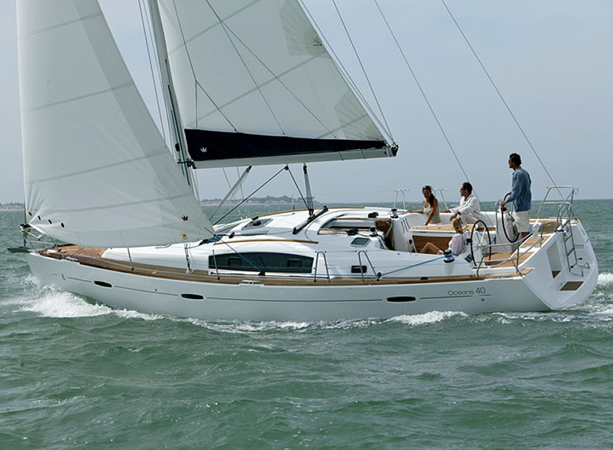 Sailboat Charter Rental - Oceanis 40 holiday Spain Balearic Canary